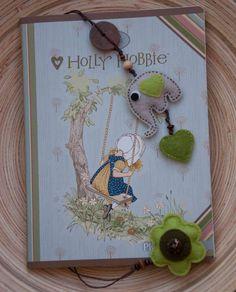 Felt elephant bookmark
