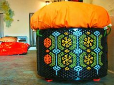 State of Green blog- design your eco lifeUpcycled washing machine drums!!!