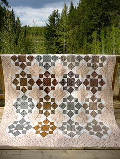 On a Whim Quilt Top