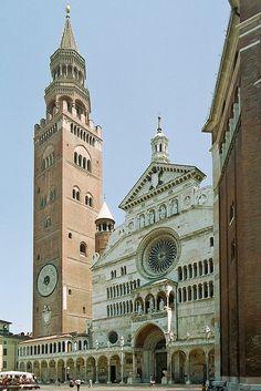 Cremona: Duomo & Torrazzo, Province of Cremona , Lombardy, Italy