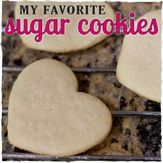 Sugar Cookie Recipe - sugarkissed.net