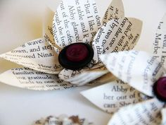 DIY Holiday crafting with book pages
