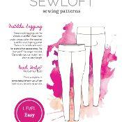 Sewloft Knit Legging Short Capri Pattern - via @Craftsy