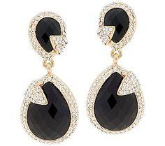 Amrita Singh Pave Teardrop Earrings #OCRFSuperSaturday