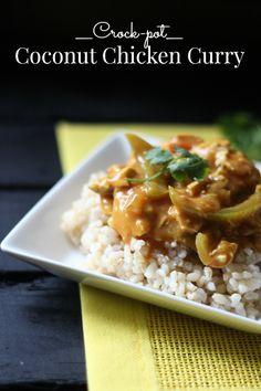 Crock-pot Coconut Chicken Curry
