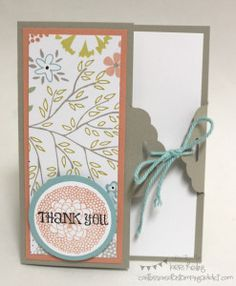 Scallop Tag Topper Punch Card