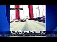 Driver Caught On Video Spinning Doughnuts On Golden Gate Bridge