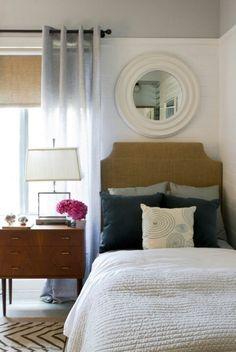 Small bedroom twin bed headboard