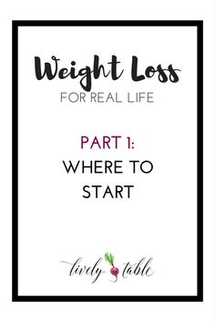 Weight loss tips for