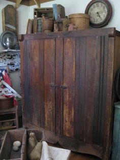 cupboard, wooden cabinet, wood cabinet