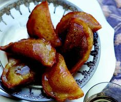 Cheese- or Walnut-Filled Crepes (Atayef) recipe