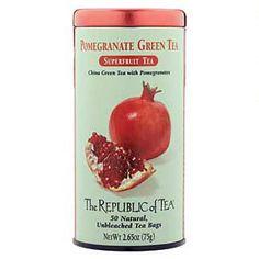 Pomegranate Green Tea Bags