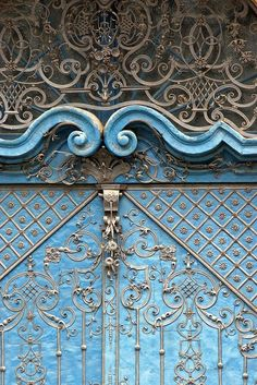 Door in Wroclaw, Poland