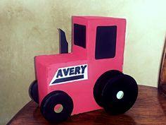 case tractor, box idea, vday box