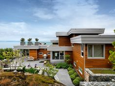 Gorgeous Wood — Hillcrest House by Victoria Design Group