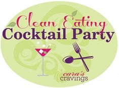 Amazing site with links to recipes for a clean-eating party.  Drinks..gf..vegan.  It has it all so you can spoil your guests or yourself!