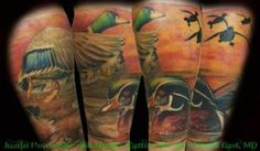 Duck sleeve, 2012 Hunting and Fishing Tattoo Contest — Field & Stream