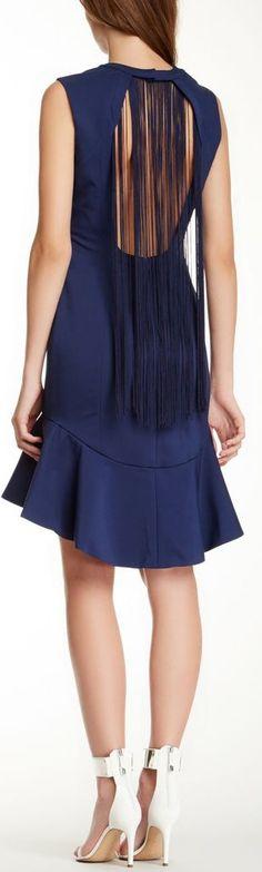 fring open, dress
