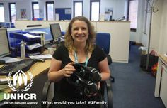 If I was forced to flee, I would take my trainers to help me cope with the long walk ahead, and hopefully to help me run back home when the chance came.Claire from the UK - Visit 1family - http://unhcr.org/1family/