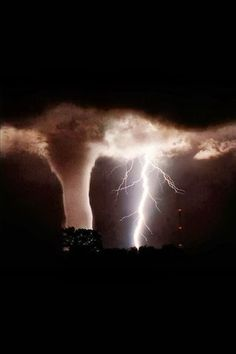 Tornado and Lightning, NWS