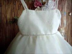 Βαπτιστικό φόρεμα για πριγκίπισσες - YouTube