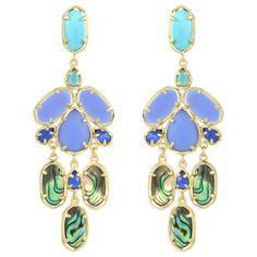 Kendra Scott Kyra Fiji Earrings found on Layla Grayce #laylagrayce #kendrascott #earrings