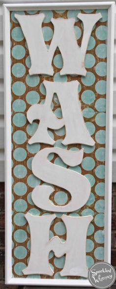 decor, idea, crafti, laundry rooms, hous, laundry room signs, wash laundri, laundri room, diy