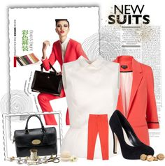 Business Attire, created by jmcgee330 on Polyvore