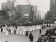 Suffrage Parade, New York City, ca. 1912