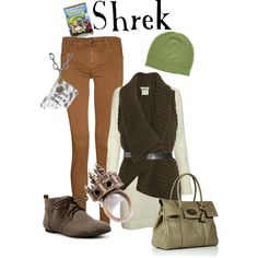 Shrek, created by marybethschultz on Polyvore