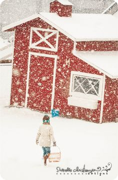 Can't wait to have a red barn