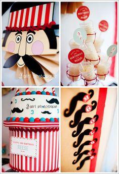 Mustache Party!