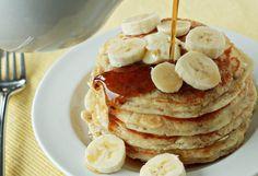 Fluffy Banana Pancakes | Kitchen Treaty
