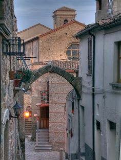 The Norman Arch & Abbey in San Giovanni in Fiore by mj56p, via Flickr