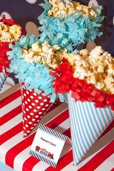 popcorn party - Goog