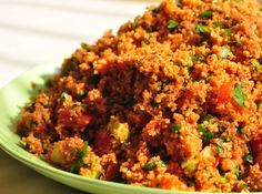Turkish bulgur wheat salad