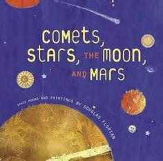 Comets, Stars, the Moon, and Mars poetry collection on solar system/space