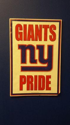 NY Giants Pride