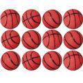 Basketball Bouncing Balls 12ct for $5.99 at party city. May be a little more red than orange