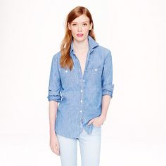 J.Crew - Japanese selvedge chambray shirt