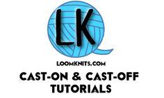 knit cast, knittingloom knit, knit tutori, knit loom