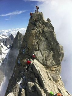 Courmayeur, Italy: Dente del Gigante Monte Bianco italy
