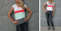 Color Block Tank – collectively yours