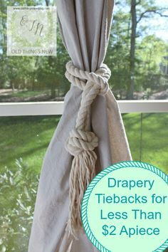 Nautical style Drape