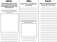 4th grade nonfiction book report