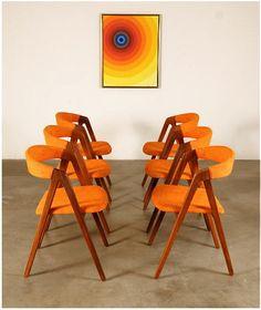 Teak Modern Chairs #Danish #DanishDesign