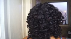 Two Strand Twists Bantu Knot Out On Natural Hair