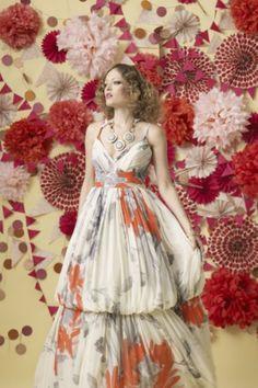 BHLDN Zinnia Gown   #gown #wedding #coral #bridal #BHLDN