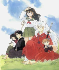 Inu Yasha Artwork by Rumiko Takahashi