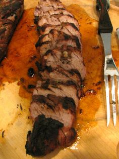 Balsamic Grilled Pork Tenderloin